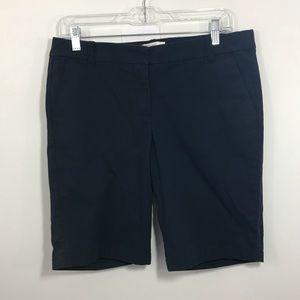 J. Crew Navy Blue Bermuda Shorts Sz. 6